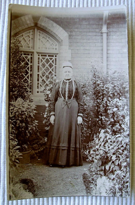 Antique Photograph - Old Woman
