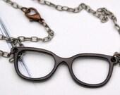 Nerdy Glasses Necklace - Talk Nerdy to Me