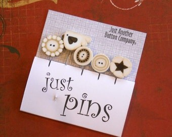 DECORATIVE PINS.  Perfect for Decorating Ornaments & Pin Cushions.