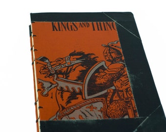 1938 KINGS and THINGS Vintage Journal Notebook