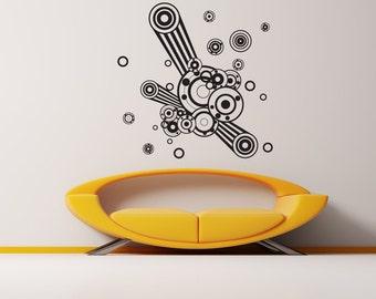 Vinyl Wall Decal Sticker Circles 1031m