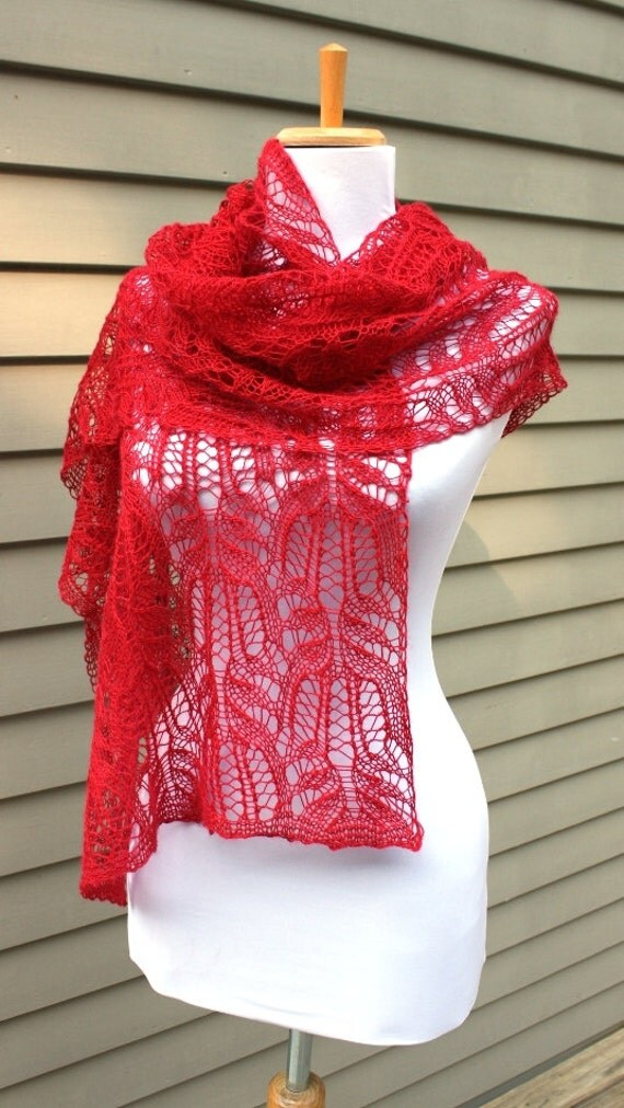 Amy Pond, Red  Scarf,  Lace , Doctor Who