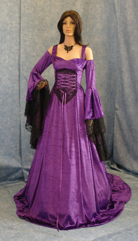 Renaissance dress medieval dress handfasting by ...