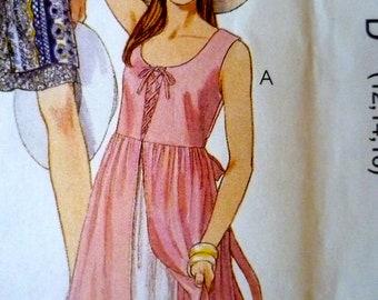 Dress w Underskirt Pattern McCalls 8157 Bust 34 to 36 UNCUT