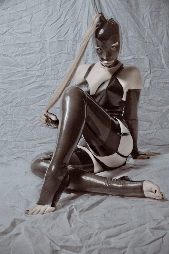 Latex Stockings 42