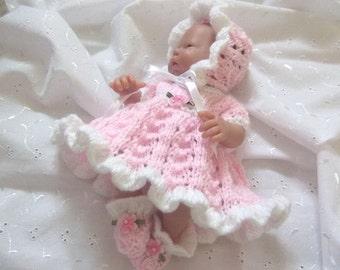 """Knitting Pattern for 9-10"""" dolls, Berenguer, OOAK"""