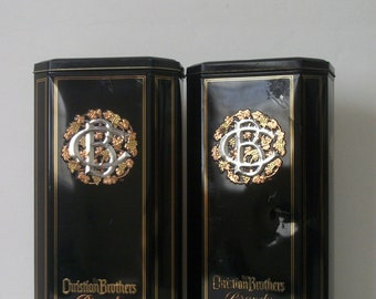 Christian Brothers Brandy Collectible tin  Gift
