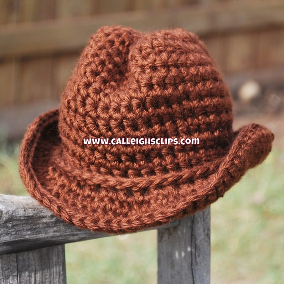 Cowboy hat size 6-12,12-24, & 2T- 4T - variety of color choices