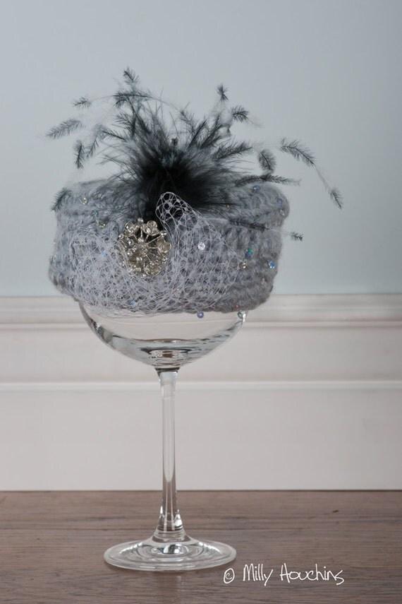 Crochet Newborn Pill Box Hat