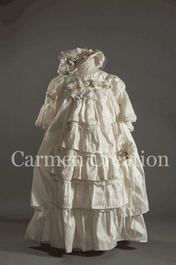Items Similar To Vintage Christening Dress Victorian