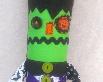 Halloween Plush Art Doll Midnight