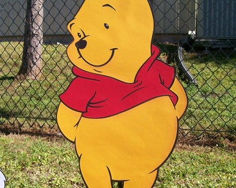 Winnie the Pooh Character Standup or Room Decoration, standee, prop, Winnie the Pooh Decor