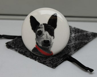 Wine Stopper Hand Painted Custom Pet Portrait on a Wine Stopper, Great Gift for Dog & Cat Lovers