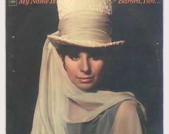 Barbra Streisand, My Name is Barbra, Two -  Vintage Vinyl Record Album, Columbia LP CL 2409