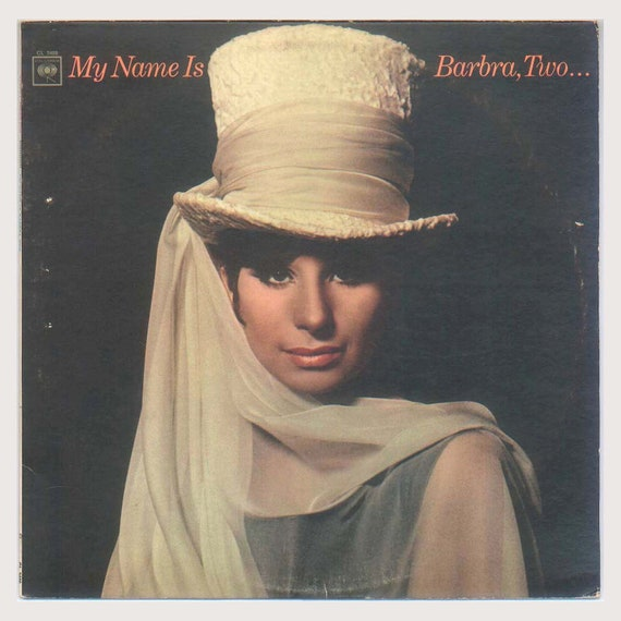 Barbra Streisand, My Name is Barbra, Two -  Vintage Vinyl Record Album, Columbia LP CL 2409