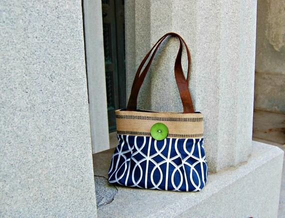 Handbag Purse Everyday Bag : Boardwalk