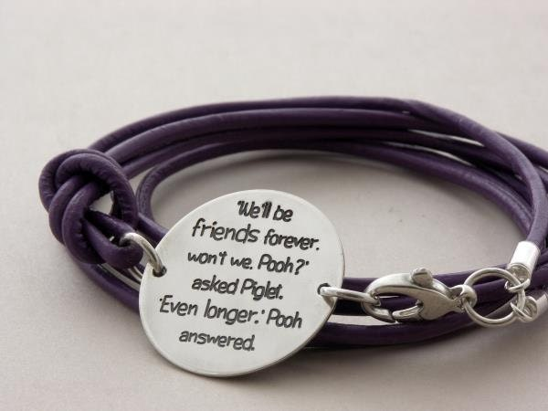 best friend gift friendship custom engraved sterling by