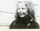 "Vintage Photo ""Always Smiling"", Photography, Paper Ephemera, Snapshot, Old Photo, Collectibles - 0011"