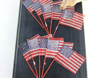 Ten Little American Flags