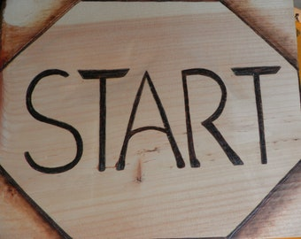 START your custom order today...signs for everyone indoor/outdoor handmade woodburned art for home and garden