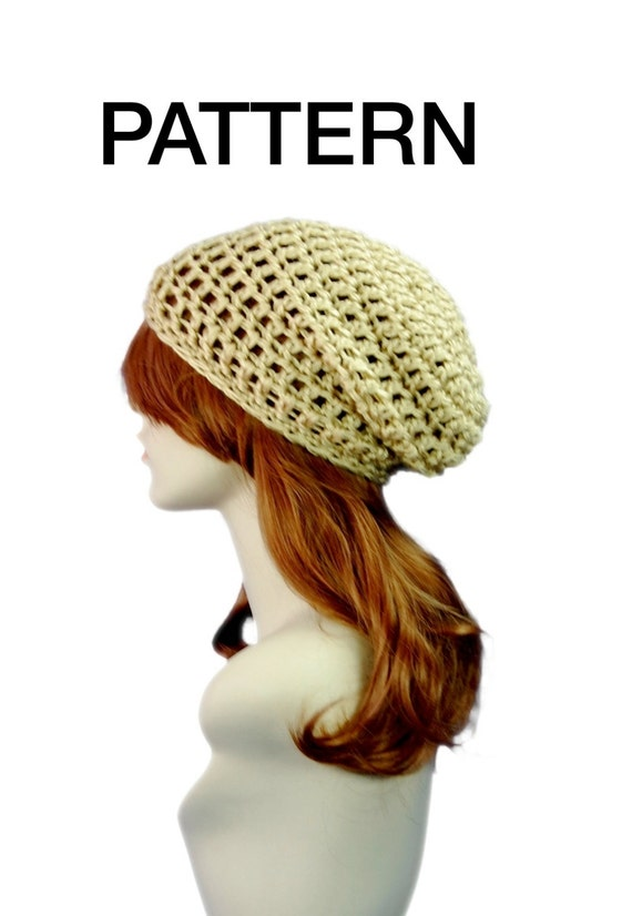Summer Slouchy Hat PATTERN Lightweight Adult by ...