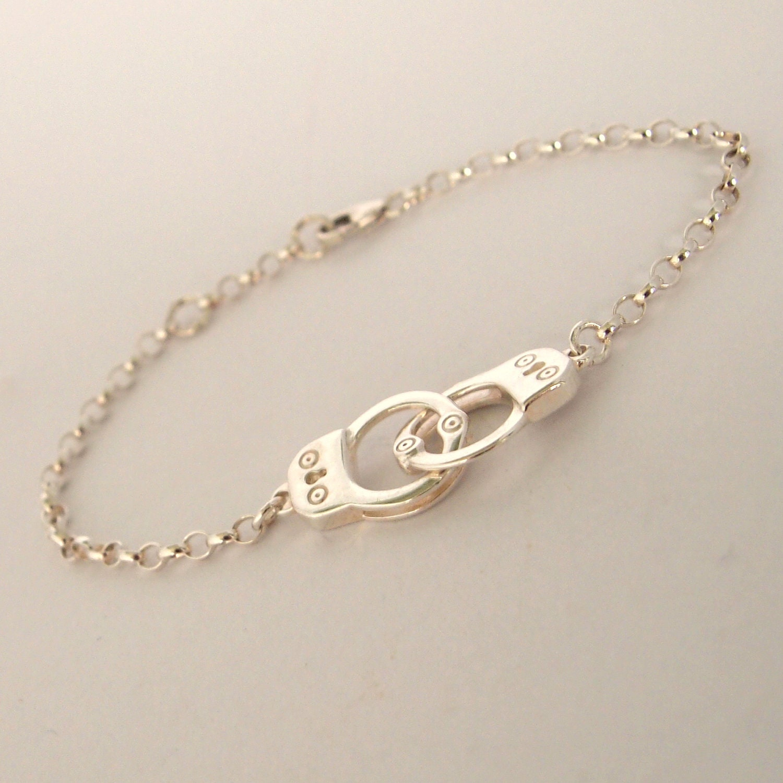 handcuff bracelet sterling silver