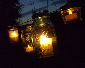 Hanging Mason Jar Lids Hanging Mason Jar Lantern Hanging Mason Jar Vase Hanging Mason Jar Lights Mason Jar Lighting