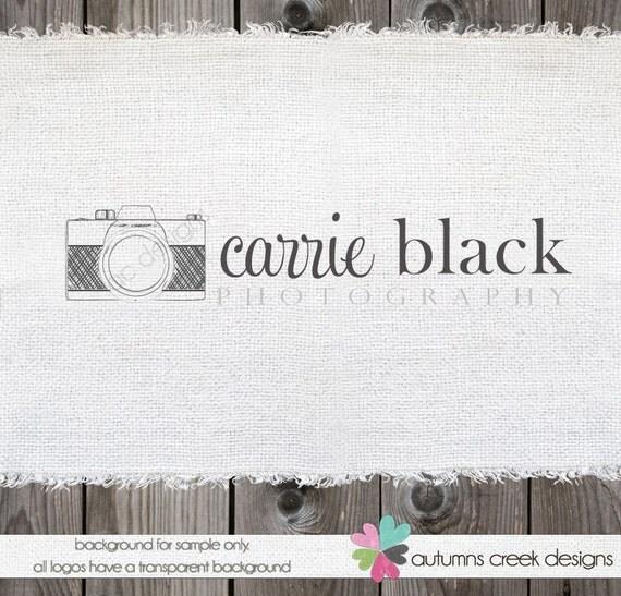 Photography Logo Camera Logo vintage logo Photography logos and watermarks photographers logo Premade Logos Logo Design Camera Logo Design