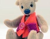 OOAK Miniature Artist Bear