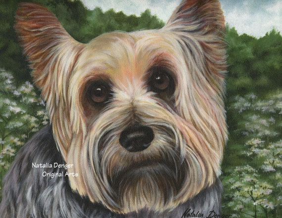 Custom Pet Portrait, Original, Painting, Cat, Dog, Rabbit, Mouse, Rat, Hamster, Fish, Bug, Butterfly, etc.