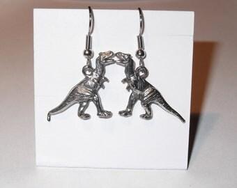 Gorgeous Geekery Large Albertasaurus Earrings - Dinosaur, Paleo, Science, Geology
