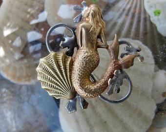 Under the Sea Mermaid Brooch