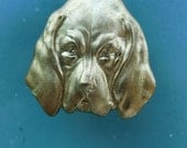 Hound Dog Head (2 pc)