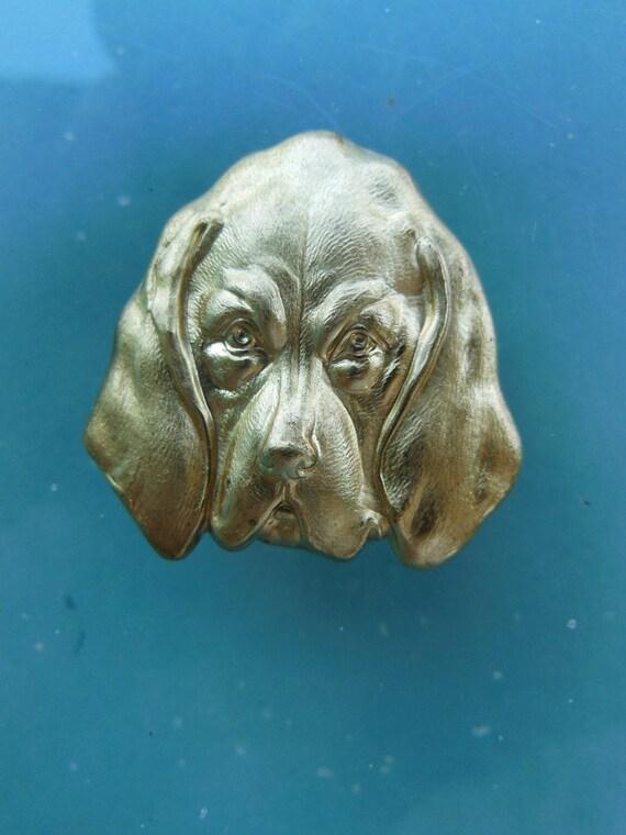 Hound Dog Head (2 pc)