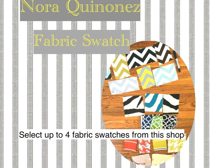 Fabric Swatches- Fabric Samples - Nora Quinonez Decorative Pillows