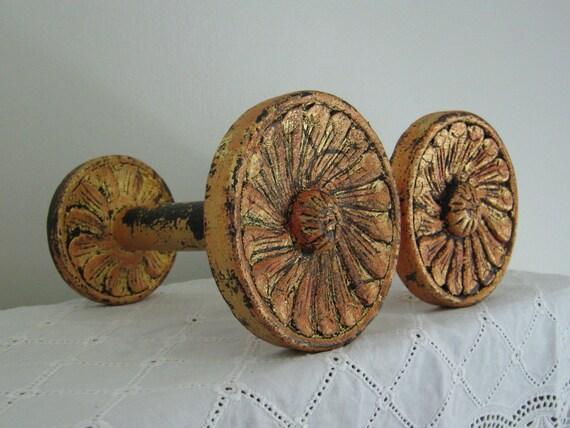 Carved Medallion Holdbacks