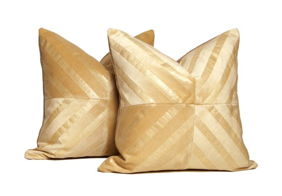 Luxe Pearl Velour Patchwork X Pillow Set