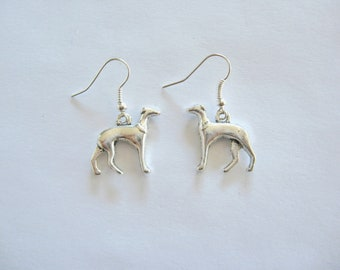 Greyhound Earrings, Sighthound  Earrings, Whippet Earrings, Dog Earrings, Pet Lover Earrings