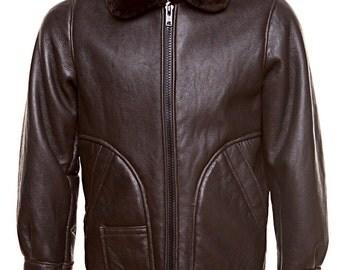 Shearling coat for men
