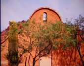 Mission Gate San Xavier Historical Photograph