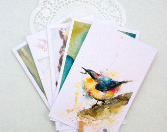 Pack of 5 GREETING CARDS - Buy 4 get 1 FREE (98x148 mm)