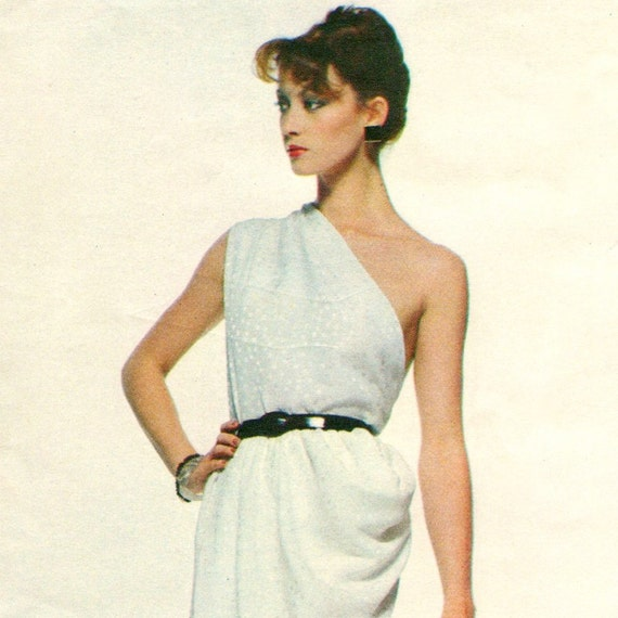 Tara Shannon models Vogue 2307 by Givenchy (1979)