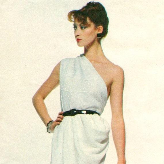 Tara Shannon models Vogue 2307 by Givenchy (1979)