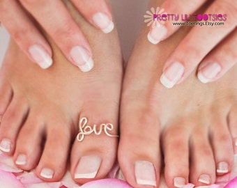 BIG Toe LOVE Ring