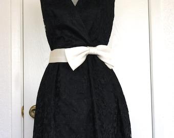 Black Lace Vintage Dress