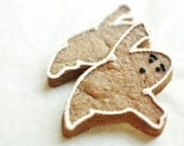 Ghoulish Ghost Gingerbread- used to be - Men - Halloween Decorated Cookies