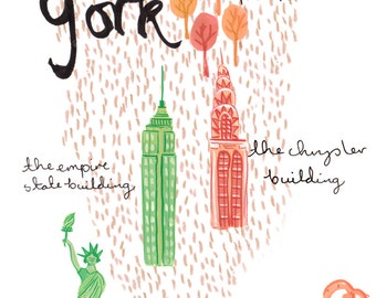 New York A4 Art Print
