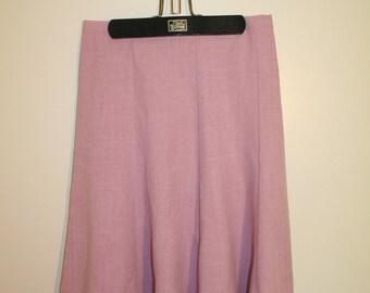 1980s Pink/Purple Skirt