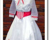 Mary Poppins Jolly Holiday dress and hat