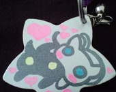 Kawaii/Cute Metal Star Keychain inspired by GaiaOnline's Kiki & Coco . 10% to Japan Relief/Reconstruction
